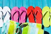 Flip flop'lar — Stok fotoğraf