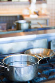 Cooking pots — Stock Photo
