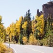 Autumn on road — Stock Photo #30917367