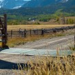 Ranch Entrance — Stock Photo