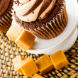 Chocolate cupcake — Stock Photo #31748643