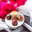 Box of chocolates — Stockfoto