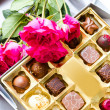 Box of chocolates — Foto Stock