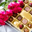 Box of chocolates — Stock fotografie