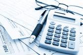 Tax return — Stock Photo