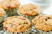 Crunberry muffin — Stock Photo