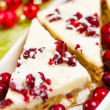Cranberry bliss bar — Stock Photo