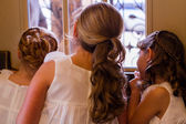 Flower girls — Stock Photo