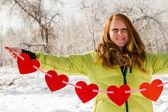 Alla hjärtans dag — Stockfoto