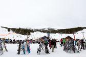 Skiing — Stock Photo