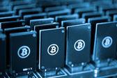 Bitcoin mining — Foto Stock