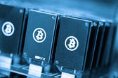 Bitcoin gruvdrift — Stockfoto