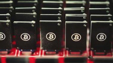 Bitcoin mining — Stock Video