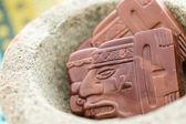 Maya glyphs — Stock Photo
