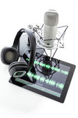 Podcasting — Stock Photo