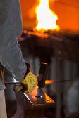 Blacksmith shop — Stock Photo
