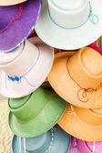 Summer hats — Stock Photo
