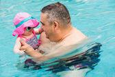 游泳 — 图库照片