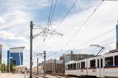 Light rail — Stock Photo