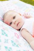 Girlbaby — Stockfoto
