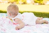 Baby girl — Stok fotoğraf