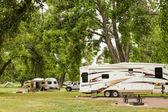 Camping rv — Foto Stock