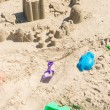 Toys at summer day in Myrtle Beach. — Stock Photo #49799051