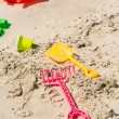 Toys at summer day in Myrtle Beach. — Stock Photo #49799157