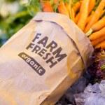 Постер, плакат: Fresh produce carrots