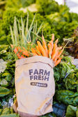 Fresh produce carrots — Stock Photo