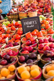 Fresh produce fruits and vegetables — Stockfoto