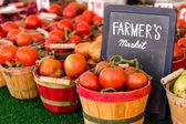 Fresh produce peach — Stock Photo