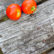 Two ripe red tomatoes — Stock Photo #50028905