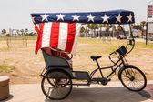 Bike at Boardwalk Myrtle Beach — Foto Stock