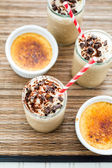 Cafe Creme Brulee Cold Drink — Stock Photo