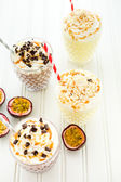 Passionfruit bliss cold drink — Stock Photo