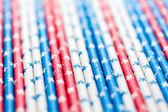 Paper straws background — Stock Photo
