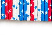 Paper straws — Stock Photo