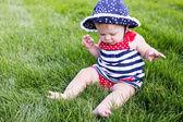 Mignon bébé fille — Photo