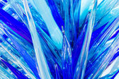 Chihuly glass artwork — Stock Photo