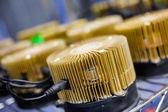 Litetcoin mining — Foto Stock