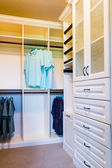 Luxury interior -  wardrobe — Stock Photo