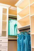 Luxury interior -  wardrobe — Stock Photo