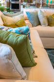 Luxus-interieur des amerikanischen wohnzimmer — Stockfoto