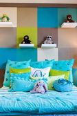 Luxury interior of bedroom — Stock Photo