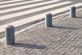 Close-up de travessia de pedestres — Foto Stock