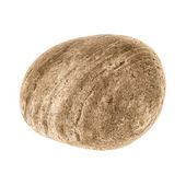 Lsolated Pebble Stone (clipped path) — Stock Photo