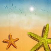 Beach Starfish — Stock Vector