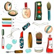 ������, ������: Makeup Set Colorful Drawing