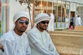 Young people at Aljendriah festival in Riyadh, Saudi Arabia — Stock Photo